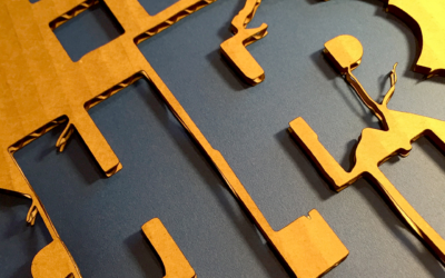 Type Transfer Lasercuts